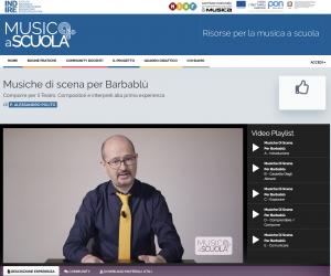 Indire Musica A Scuola - sperimentazione del metodo Herr Kompositor©